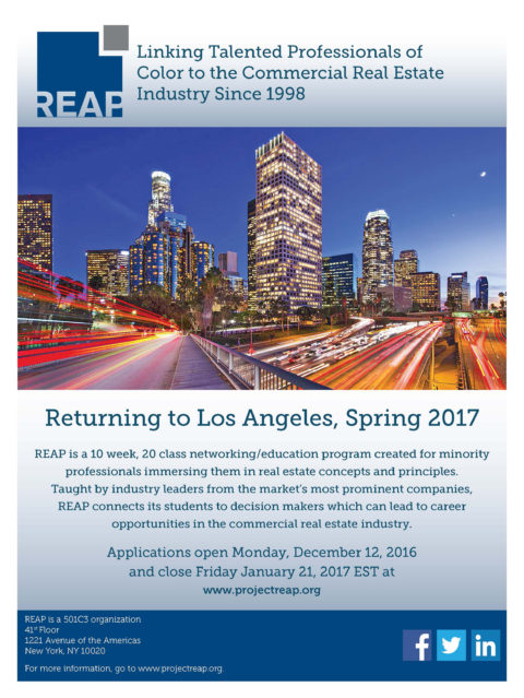 REAP Returns to Los Angeles