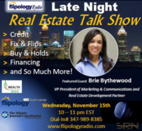 Brie Bythewood (REAP NYC '17) on Flipology Radio, Nov. 15th 10PM EST