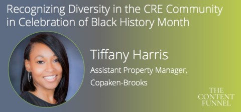 The Content Funnel 2018: Recognizing Tiffany Harris
