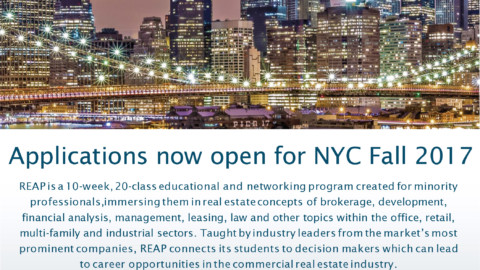 REAP Returns to New York City