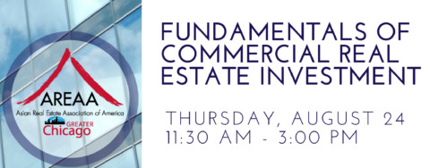 AREAA Presents – Fundamentals of Commercial Real Estate Investment Event
