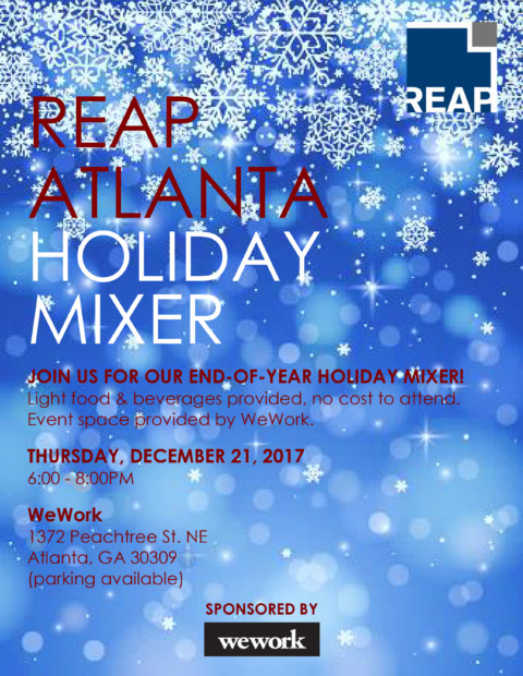 REAP Atlanta Holiday Mixer 2017