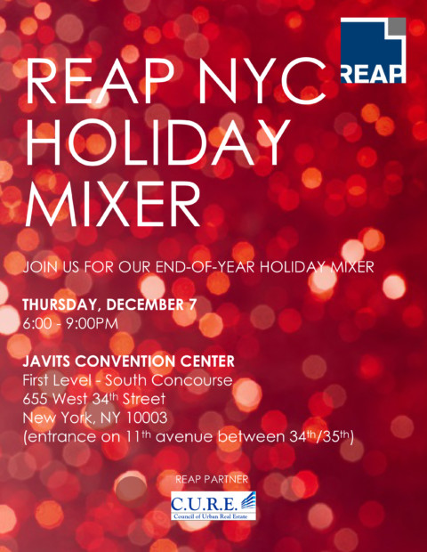 REAP National Holiday Mixer 2017 in NYC
