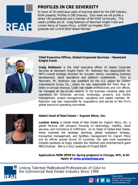 Profiles in CRE Diversity – Ed. 3
