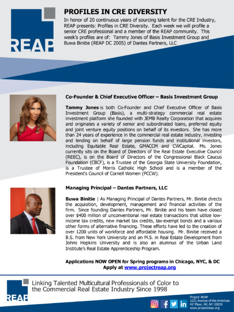 Profiles in CRE Diversity – Ed. 5