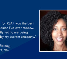 "Katrina Rainey: ""Applying for REAP was the best career decision I ever made…"""