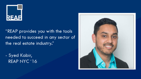 "Syed Kabir: ""REAP provides you with the tools needed to succeed…"""